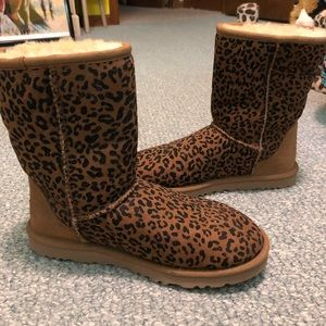 46145d687cbc25 Women s Cheetah Print Ugg Boots on Poshmark